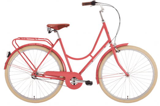 Comfort bicycle for women Stålhästen Rosa 28""