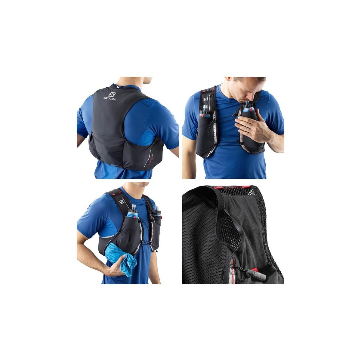 SALOMON vest S-Lab Sense Ultra 5 Set