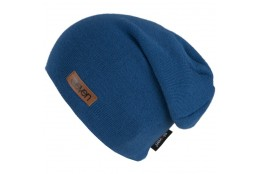 ELEVEN knitted beanie L blue