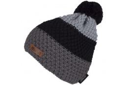 ELEVEN knitted beanie POM grey
