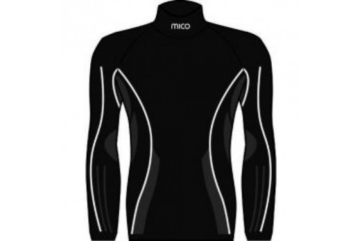 Termoveļa Mico Man High Neck Shirt LS Air Skin