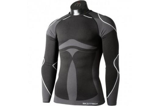 Termoveļa Mico Man Round Neck Shirt LS Warm Skin