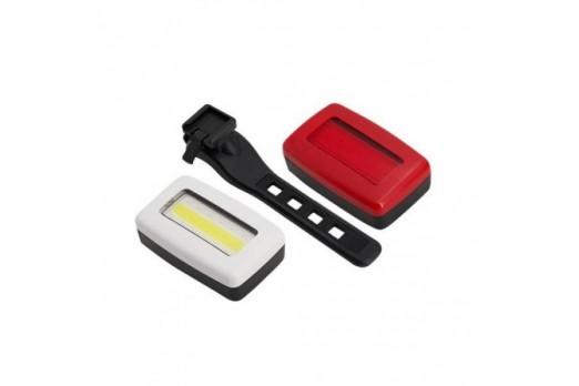Velo lukturi Cycletech Light Set USB Mini