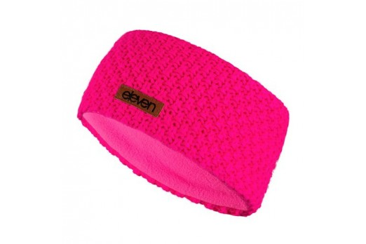 ELEVEN KNITTED HEADBAND KNIT-2 pink
