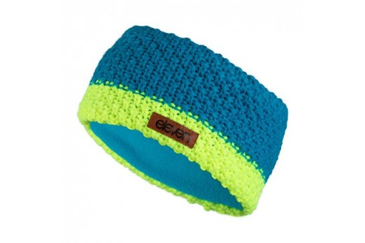 ELEVEN KNITTED HEADBAND KNIT-4 blue/yellow