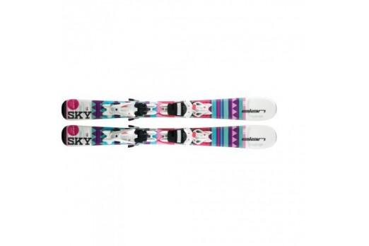 Kalnu slēpes Elan Skis Sky QS EL 4.5/7.5
