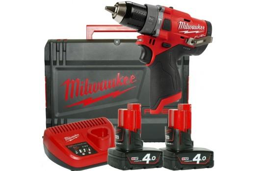 Milwaukee brushless Cordless Impact Driver M12 FPD-402X 2x4.0Ah 4933459804