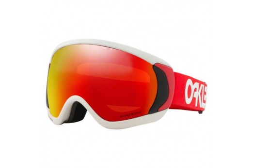 OAKLEY goggles Canopy FP Progression white/red w/prizm torch GBL