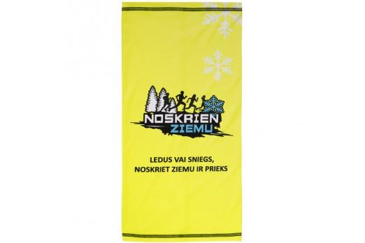 ELEVEN multifunctional scarf cap NOSKRIEN ZIEMU yellow