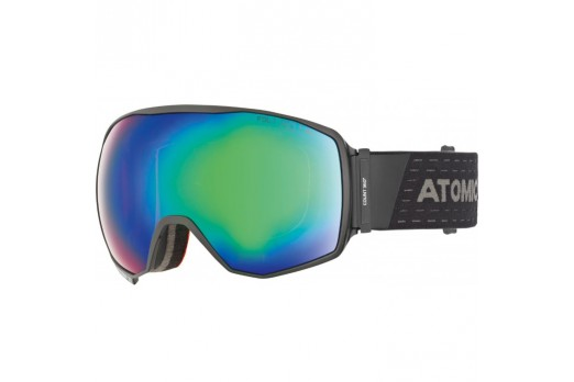 ATOMIC brilles Count 360 HD black w/green HD