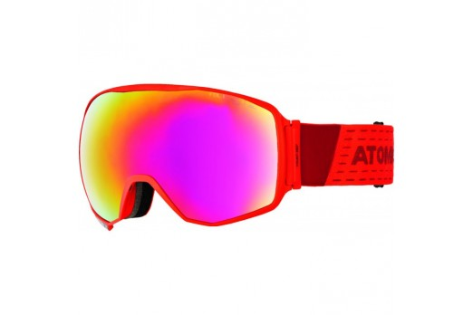 ATOMIC brilles Count 360 HD red w/fire HD