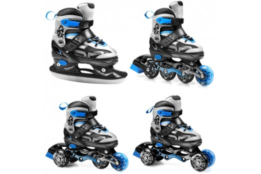 SPOKEY skates with replaceable runner QUATTRO 926655