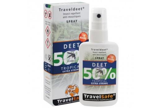 Aizsarglīdzekļi TravelSafe TravelDEET 50%