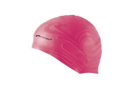 Spokey SHOAL - Swimming cap; pink