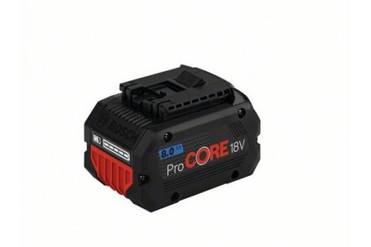 BOSCH Akumulators GBA 18V, 8.0Ah, ProCORE, 1600A016GK
