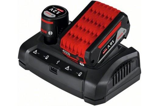 BOSCH Akumulatoru lādētājs GAX 18V-30, 12V, 14.4V, 18V, 1600A011A9