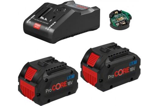 BOSCH Akumulatoru un lādētāja komplekts GBA 18V, 2x8.0Ah ProCORE + GAL 18V-160 C, 1600A016GP
