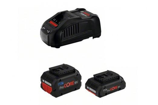 BOSCH Akumulatoru un lādētāja komplekts GBA 4.0Ah ProCORE + 8.0Ah ProCORE + GAL 1880 CV, 1600A01BA8