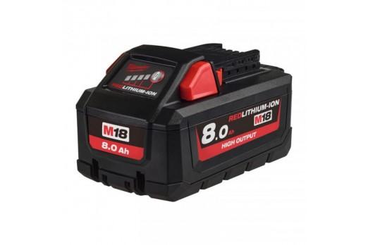 Milwaukee Battery M18 HB8, 18 V 8.0 Ah, 4932471070