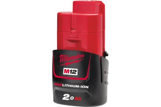 Milwaukee Akumulators M12 B2, 12V 2Ah, 4932430064