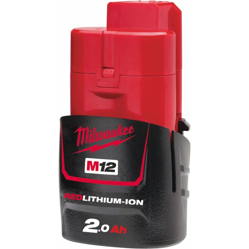 Milwaukee Battery M12 B2, 12V 2Ah, 4932430064