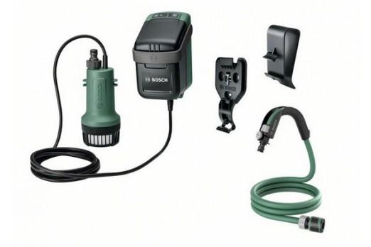 BOSCH  Akumulatora lietus ūdens sūkņi GardenPump 18, SOLO, 06008C4201