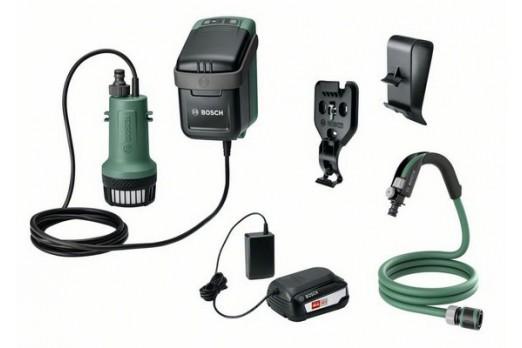 copy of BOSCH  Akumulatora lietus ūdens sūkņi GardenPump 18, 1x 2.5Ah, 06008C4200