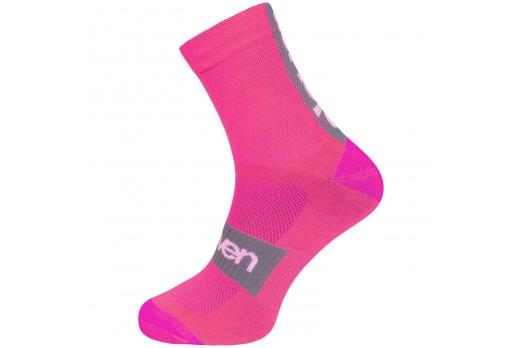 ELEVEN socks SUURI+ AKILES pink
