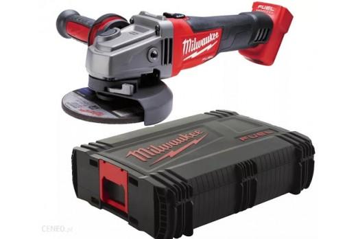 MILWAUKEE Akumulatora leņķa slīpmašīna M18 CAG125X-0X, 125mm, SOLO, 4933451439