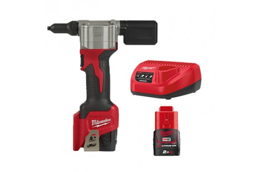 MILWAUKEE Cordless Rivet tools M12 BPRT-201X 1x2.0Ah 4933464405