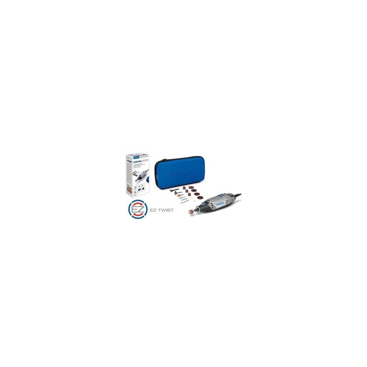 DREMEL Rotācijas instruments 3000-15 sērijas ar 15 piederumiem F0133000JA