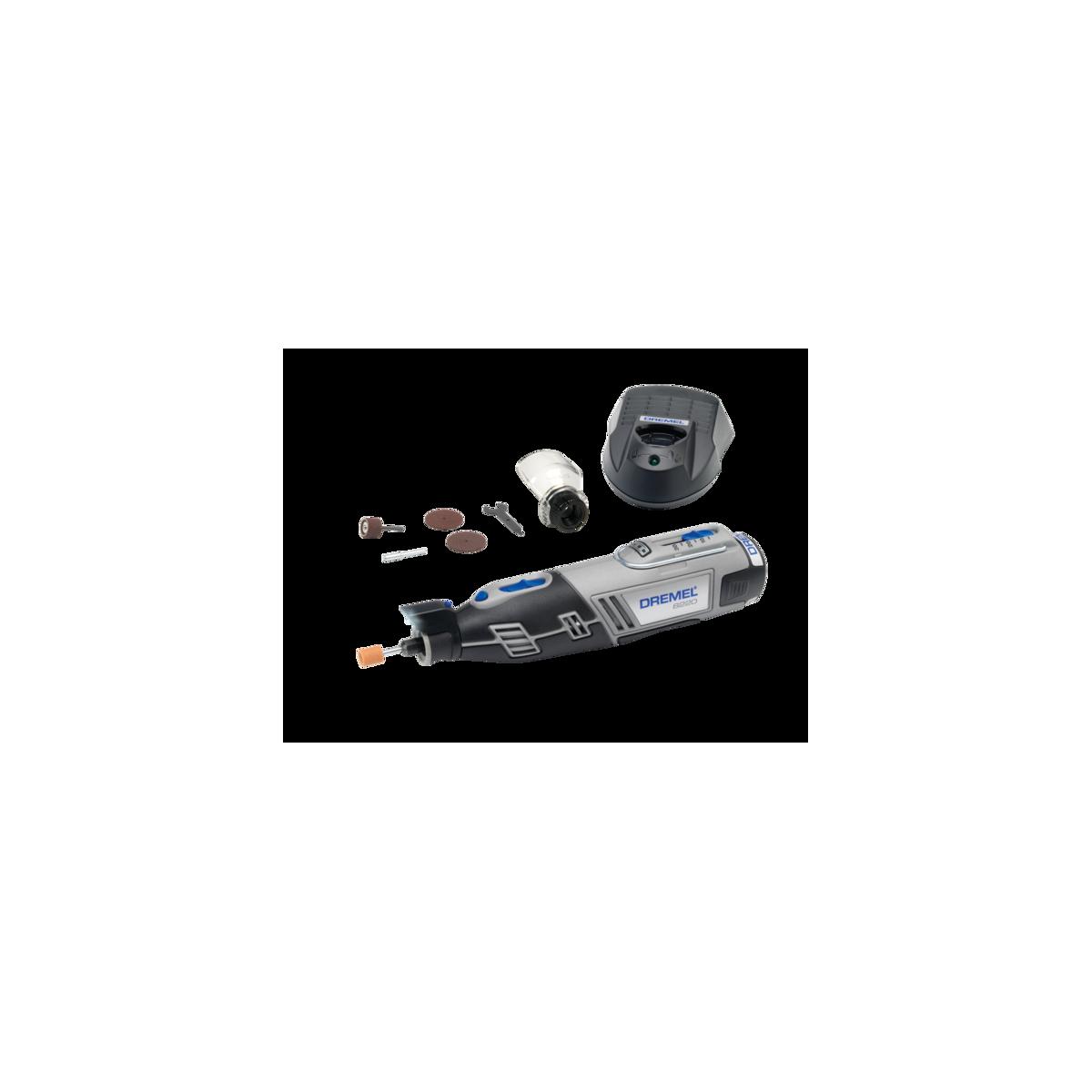 DREMEL Rotācijas instruments 8220-1/5 sērijas Li-ion 12V ar 5 piederumiem F0138220JA