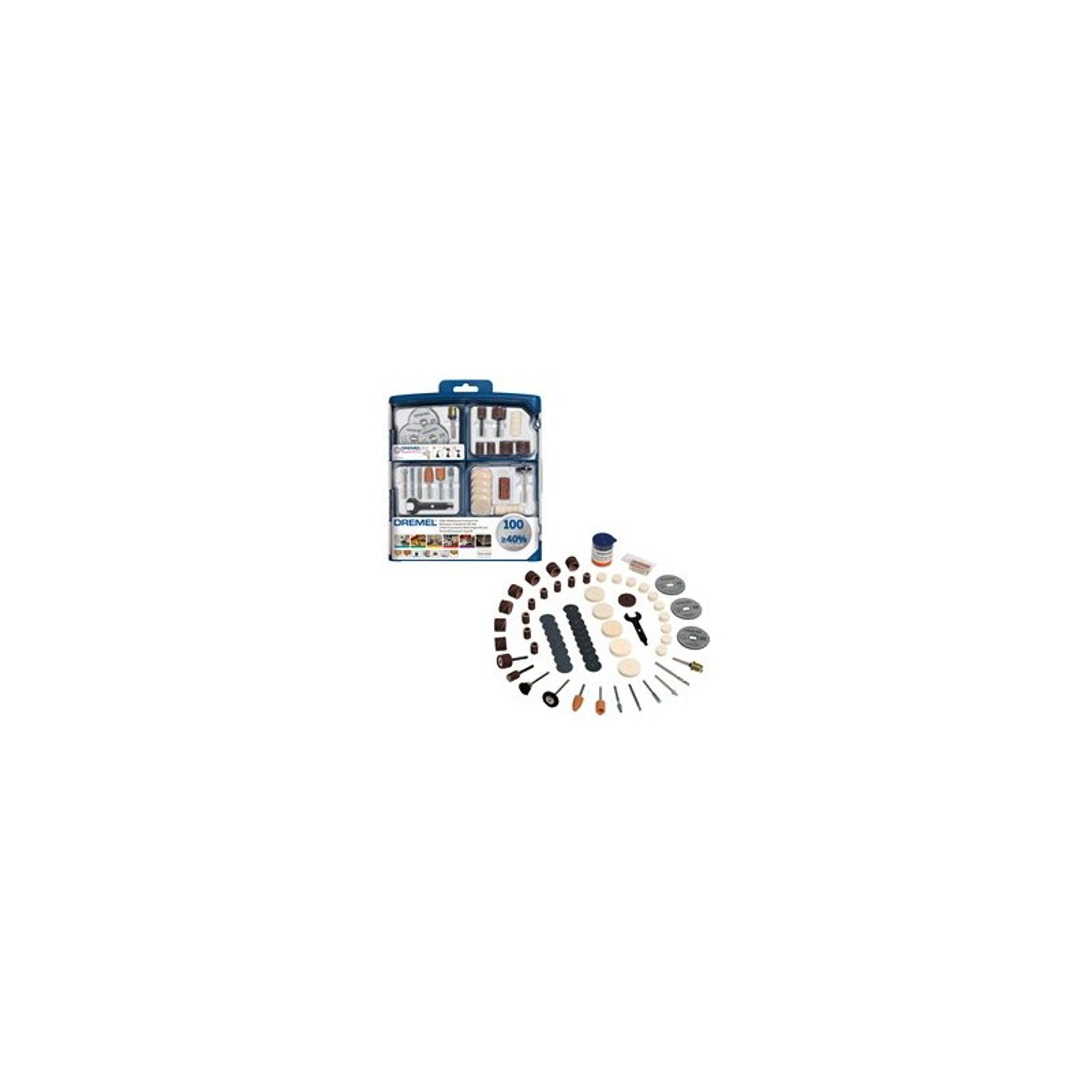 DREMEL 100 pieces Multipurpose Accessory Set 723 2615S723JA