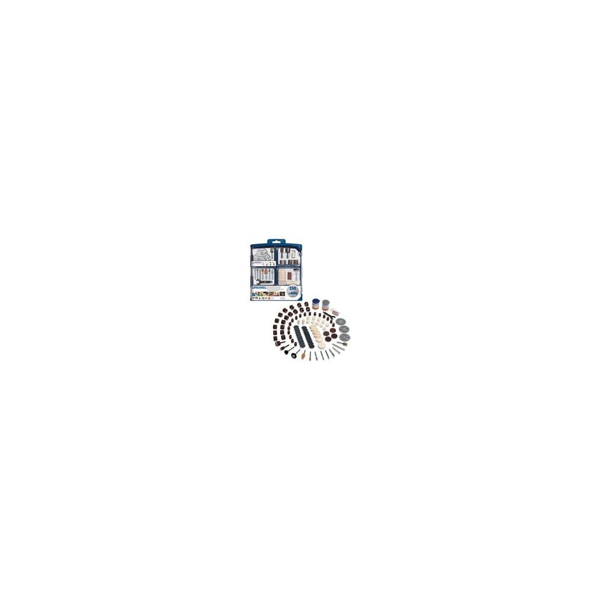 DREMEL 150 pieces Multipurpose Accessory Set 724 2615S724JA