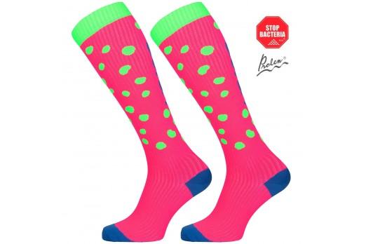 Compression knee socks Eleven Dot Green