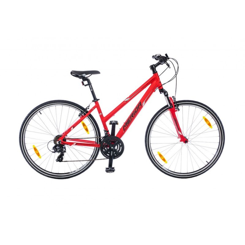MERIDA bicycle CROSSWAY 5-V LADY red 2019