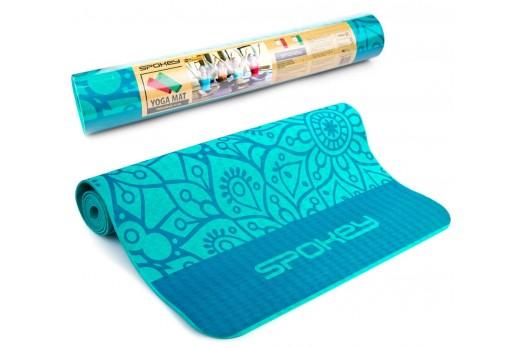 SPOKEY mat MANDALA blue 926053