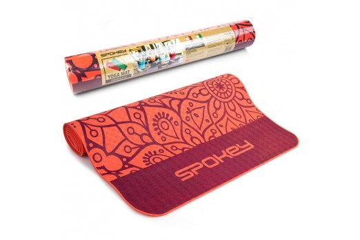SPOKEY mat MANDALA orange...