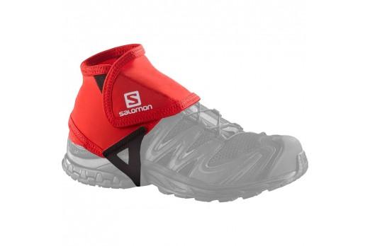 SALOMON trail gaiters low red