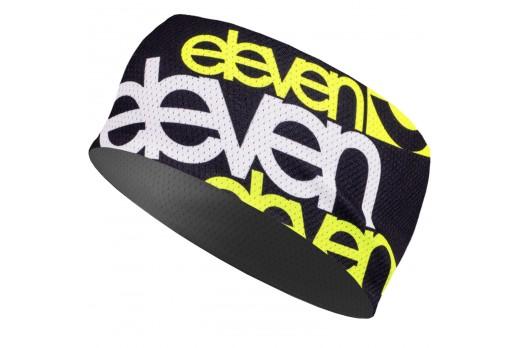 ELEVEN headband HB SILVER ELV FLUO melns