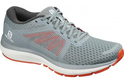 SALOMON running shoes sonic pro 2 VECTUR grey/orange