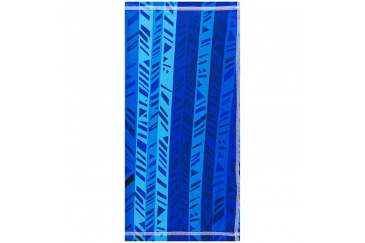 ELEVEN multifunctional scarf cap PASS BLUE