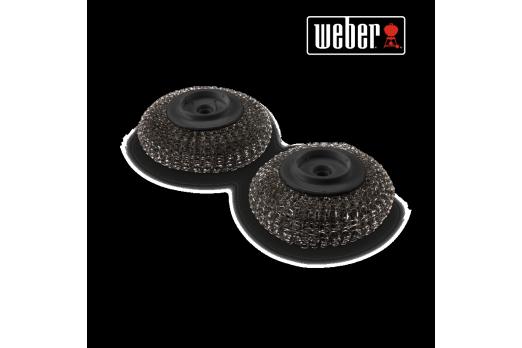 WEBER plaņčas tīrītāja maiņas galvas 2gab, 6210
