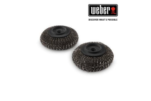 WEBER PLANCHA SCOURER REPLACEMENT HEAD 2pcs, 6210