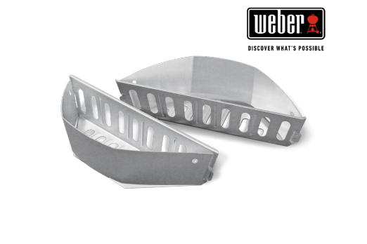 WEBER CHAR-BASKETS - FITS 57CM CHARCOAL BARBECUES AND UP, 2 PCS, 7403