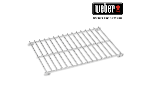 WEBER ROASTING RACK - LARGE, FITS Q 200/2000 AND 300/3000 SERIES, 23.5cm x 37cm, FITS 6562, 6563
