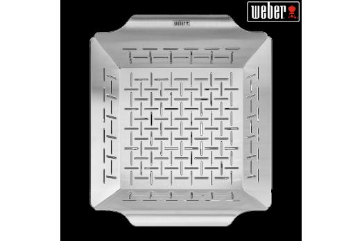 WEBER Deluxe grilēšanas grozs 30x35cm, 6434