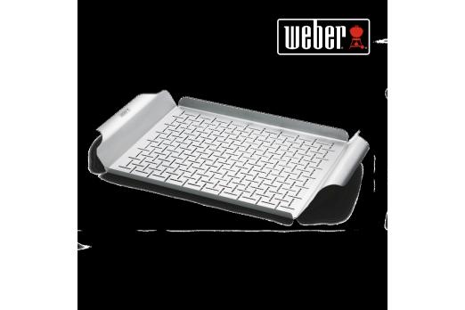 WEBER Deluxe grilēšanas panna 30x44cm, 6435