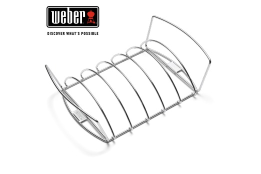 WEBER PREMIUM GRILL RACK - FITS 57CM CHARCOAL GRILLS, Q 3000 SERIES AND UP 27x44cm, 6469