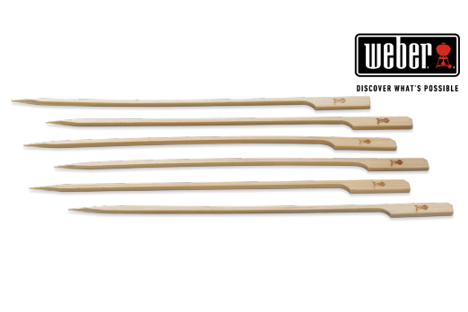 WEBER SKEWER PACK - BAMBOO, 25 PCS, 6608